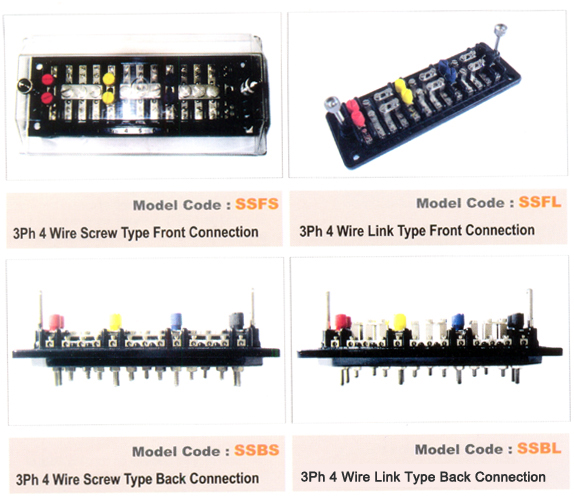 manufacturer of 3 phase 4 wire test terminal block mumbai test terminal block mumbai